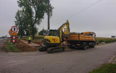 Budowa chodnika wzdłuż DK 94
